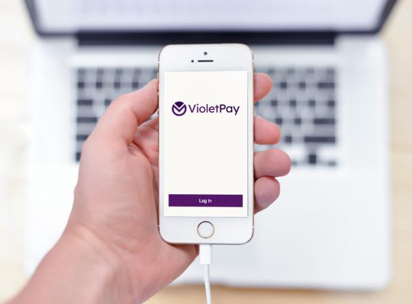 Sample branding #2 for Violetpay