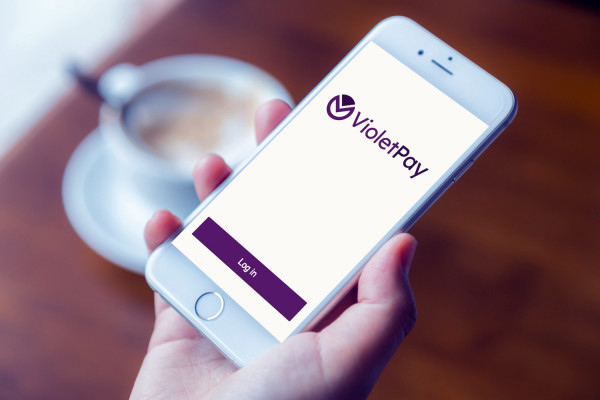 Sample branding #2 for Violetpay