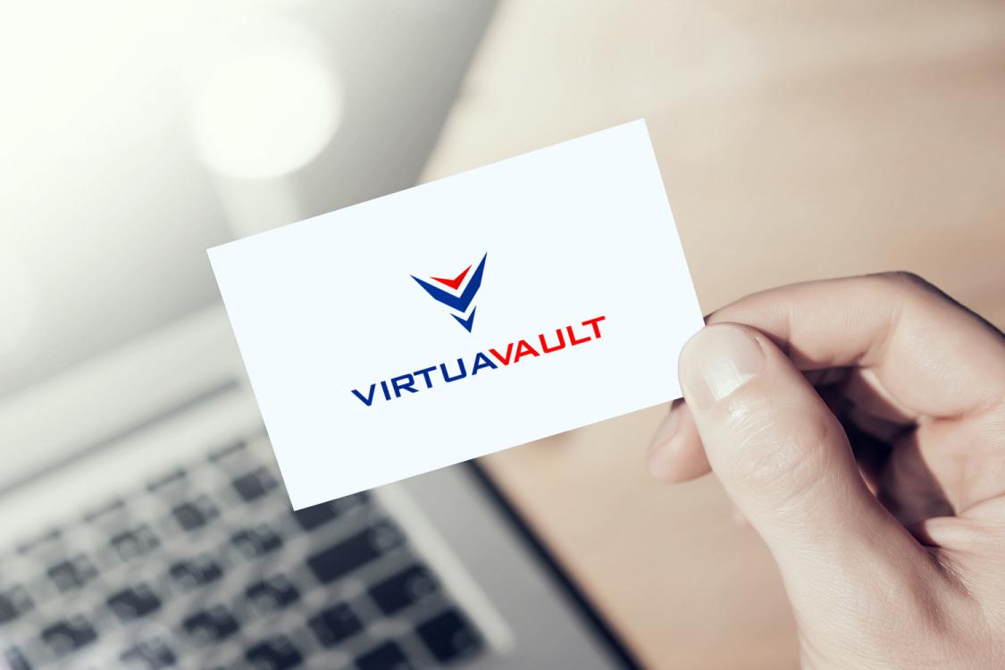 Sample branding #2 for Virtuavault