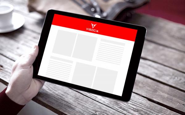Sample branding #1 for Visocia