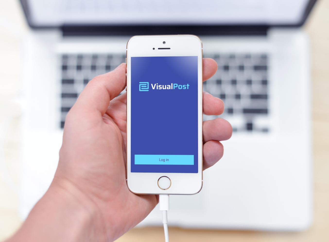Sample branding #3 for Visualpost