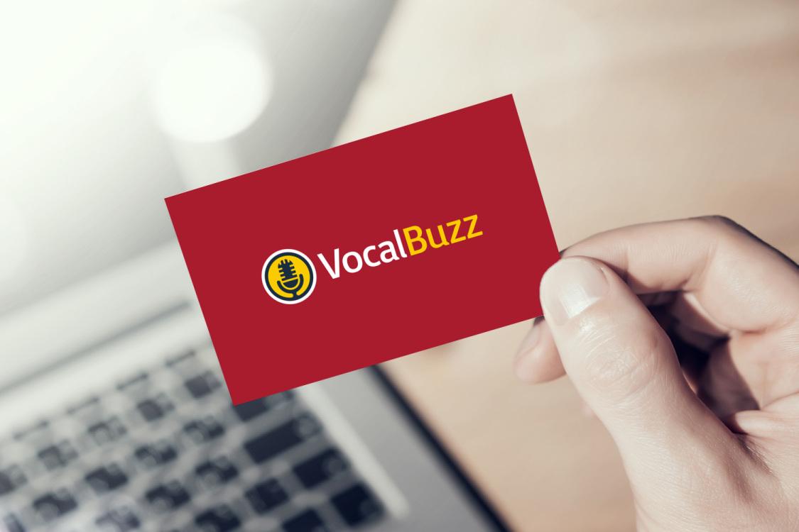 Sample branding #2 for Vocalbuzz
