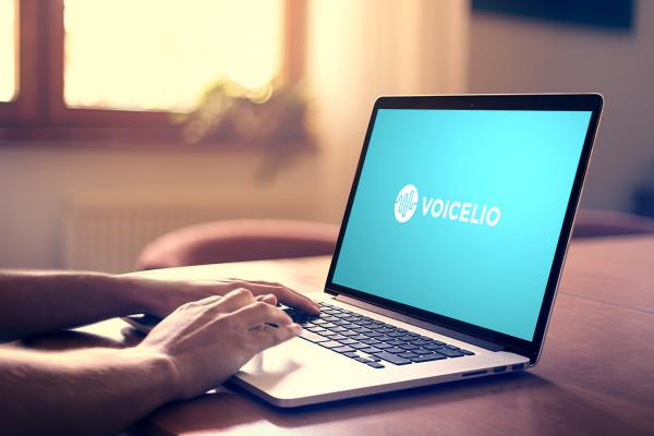 Sample branding #1 for Voicelio