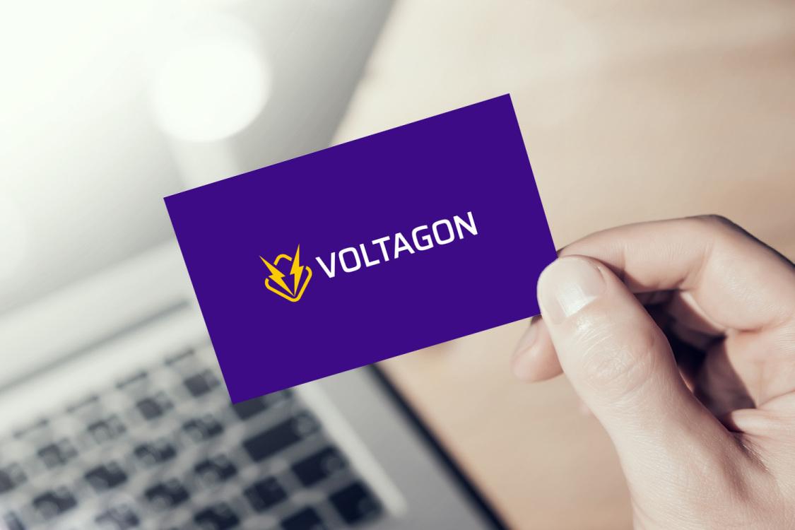 Sample branding #1 for Voltagon