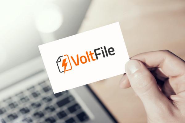 Sample branding #3 for Voltfile