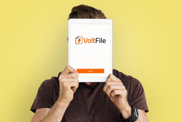 Sample branding #2 for Voltfile