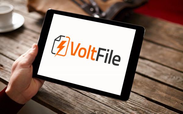 Sample branding #1 for Voltfile