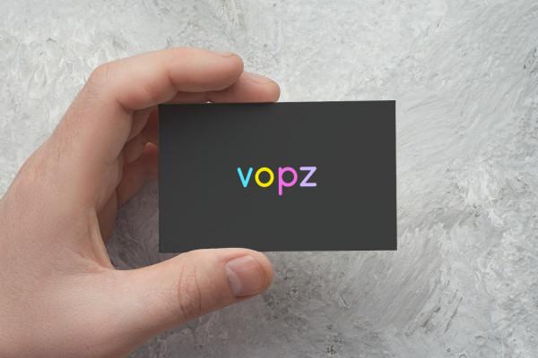 Sample branding #3 for Vopz