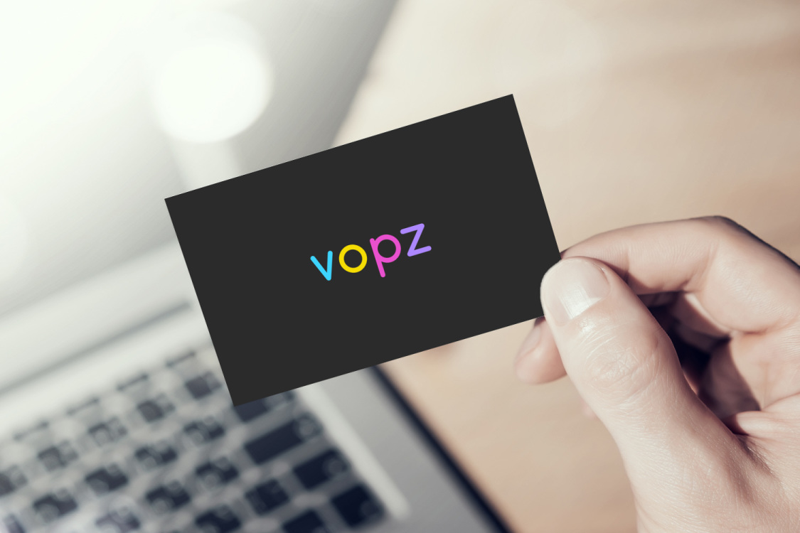 Sample branding #2 for Vopz