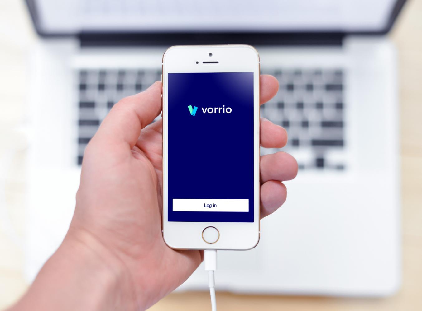 Sample branding #3 for Vorrio