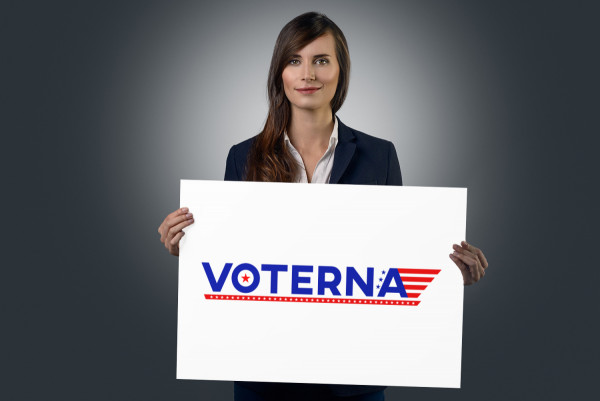 Sample branding #2 for Voterna