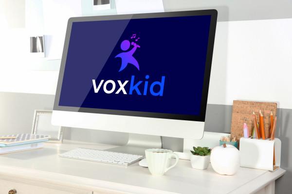 Sample branding #1 for Voxkid