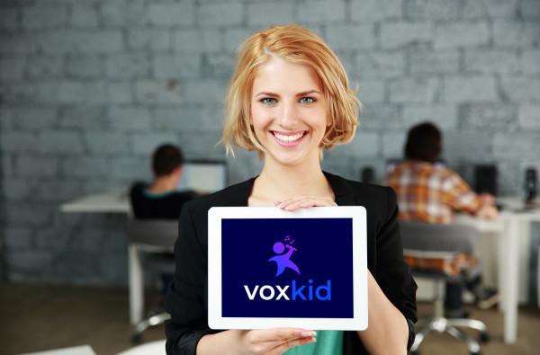 Sample branding #2 for Voxkid