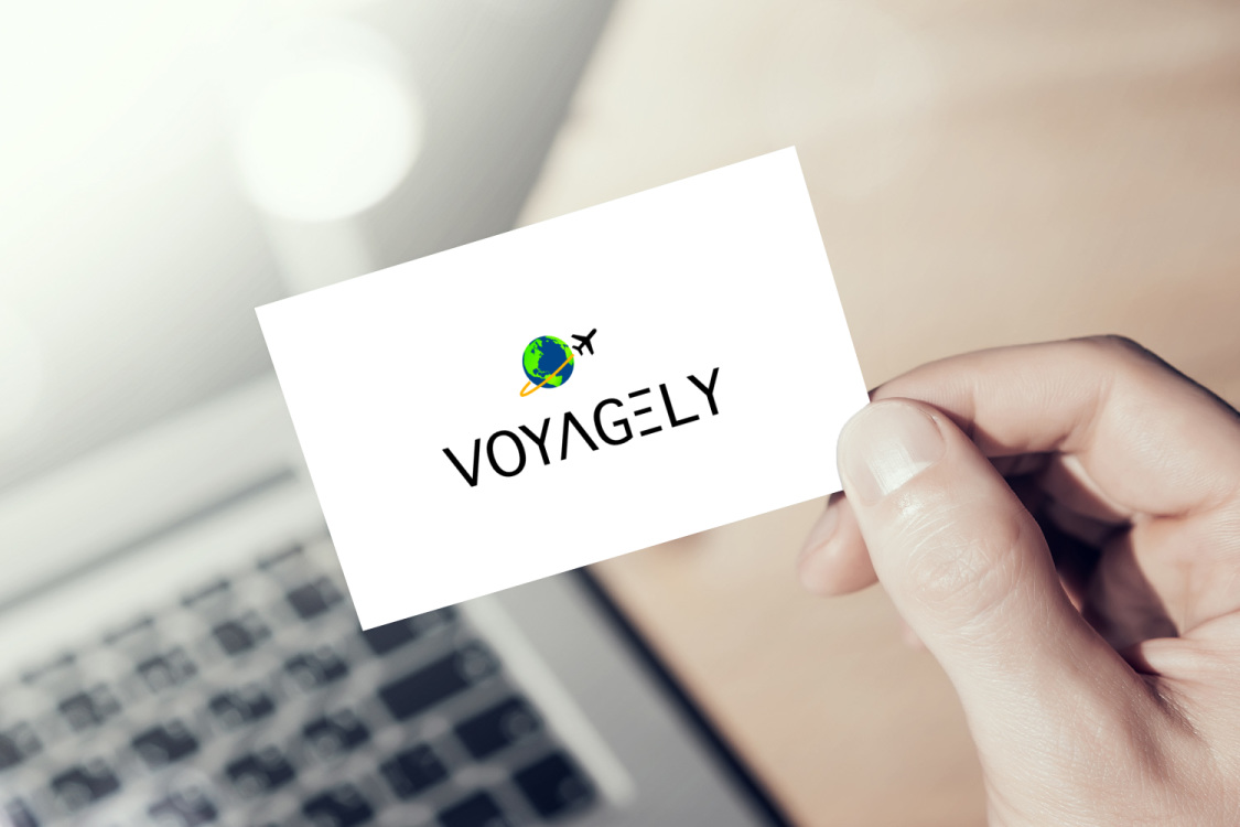 Sample branding #1 for Voyagely