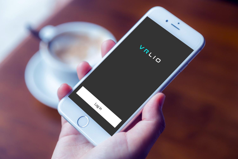 Sample branding #3 for Vrlio