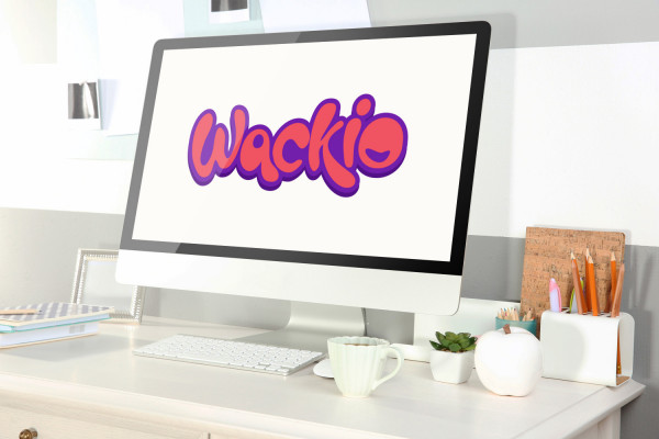 Sample branding #1 for Wackio