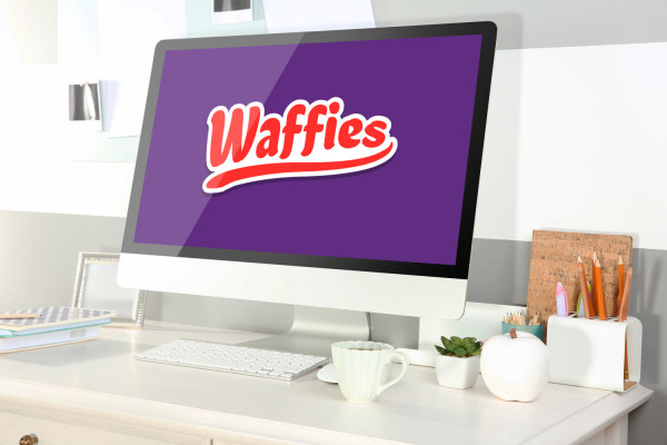 Sample branding #2 for Waffies