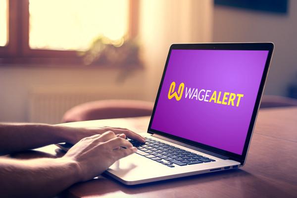 Sample branding #3 for Wagealert