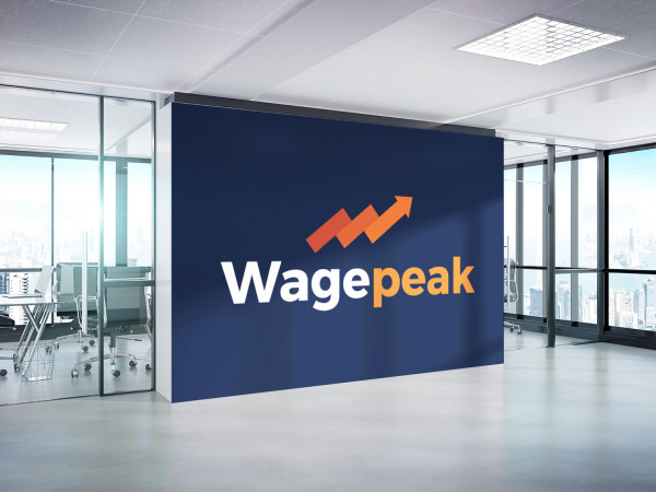 Sample branding #1 for Wagepeak