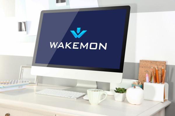 Sample branding #2 for Wakemon