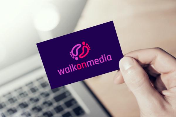 Sample branding #3 for Walkonmedia