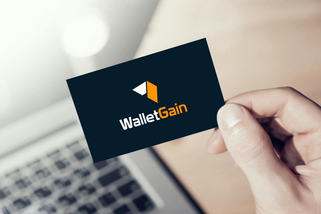 Sample branding #2 for Walletgain