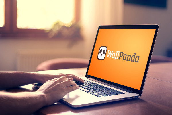 Sample branding #1 for Wallpanda