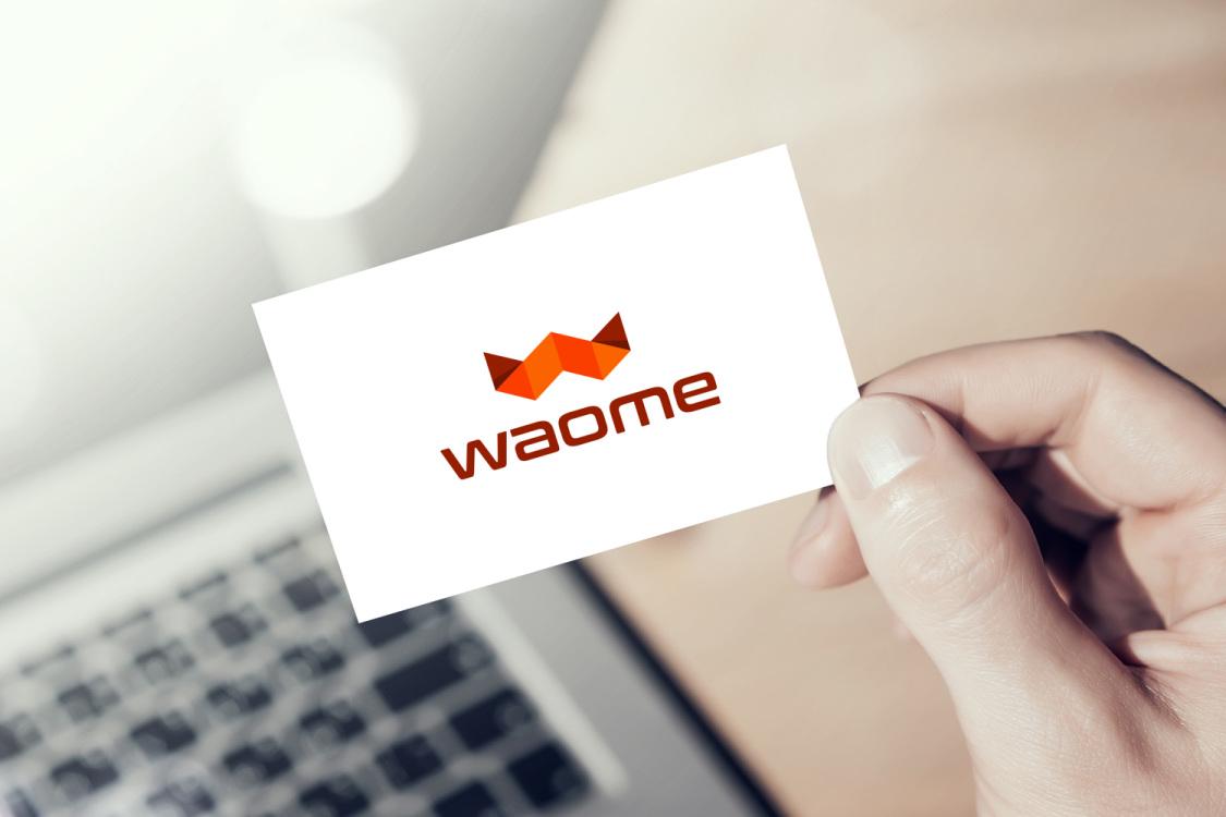Sample branding #1 for Waome