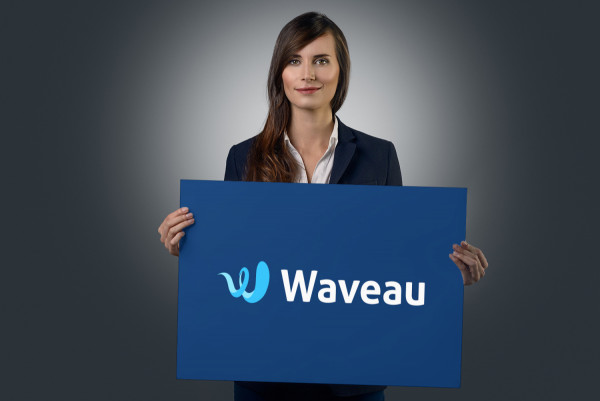 Sample branding #3 for Waveau