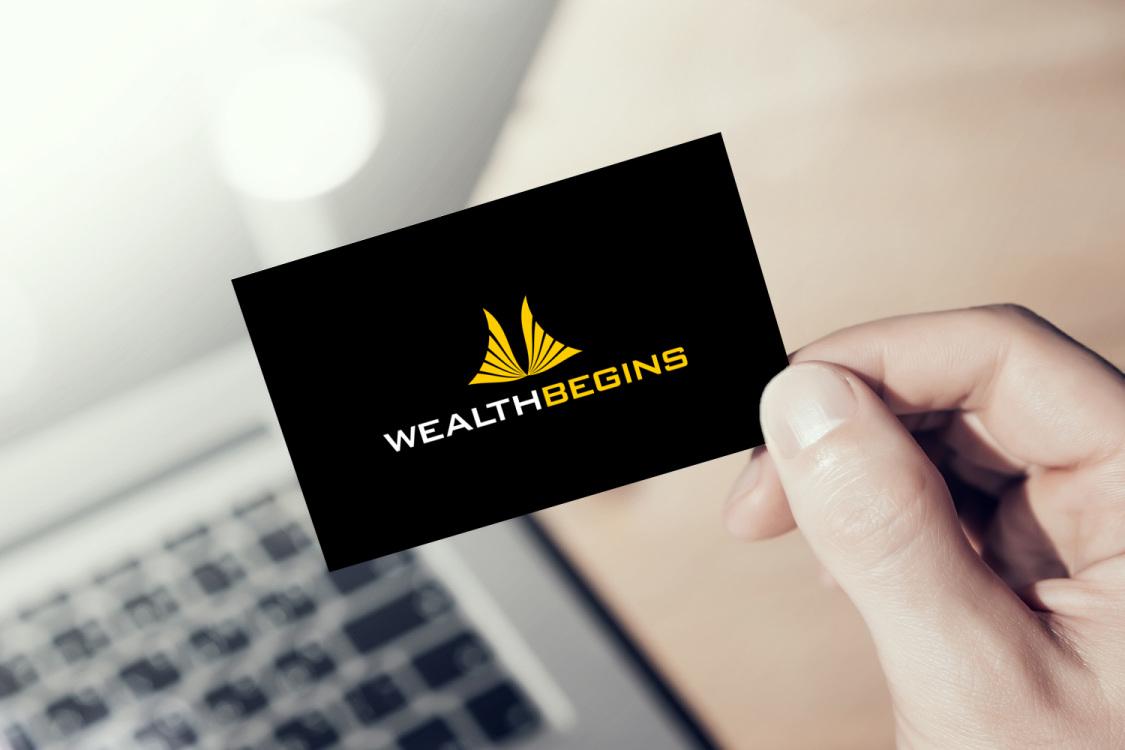 Sample branding #2 for Wealthbegins