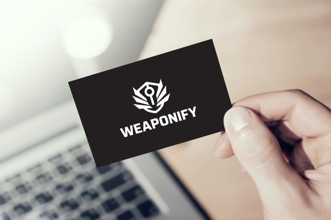 Sample branding #3 for Weaponify
