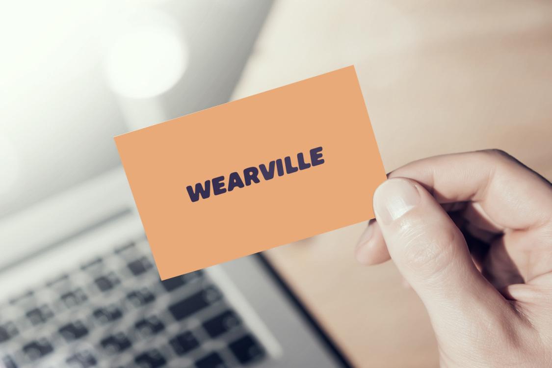 Sample branding #3 for Wearville
