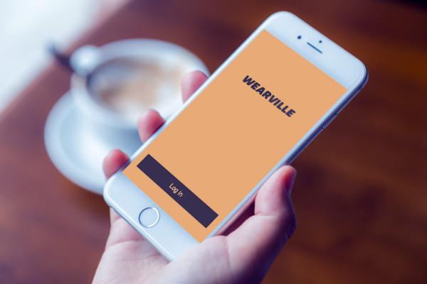 Sample branding #1 for Wearville