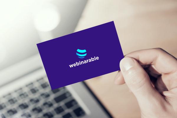 Sample branding #1 for Webinarable
