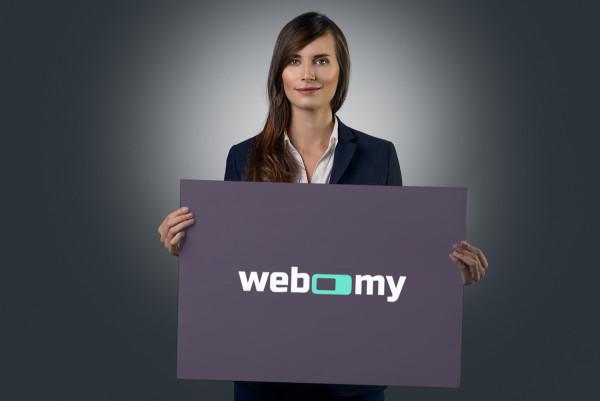 Sample branding #2 for Webomy