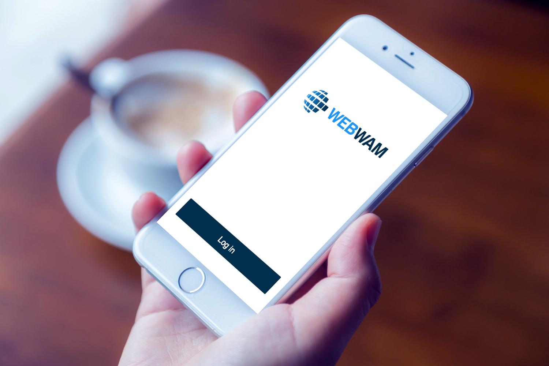 Sample branding #2 for Webwam