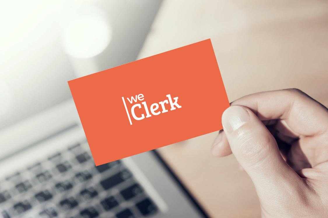 Sample branding #1 for Weclerk
