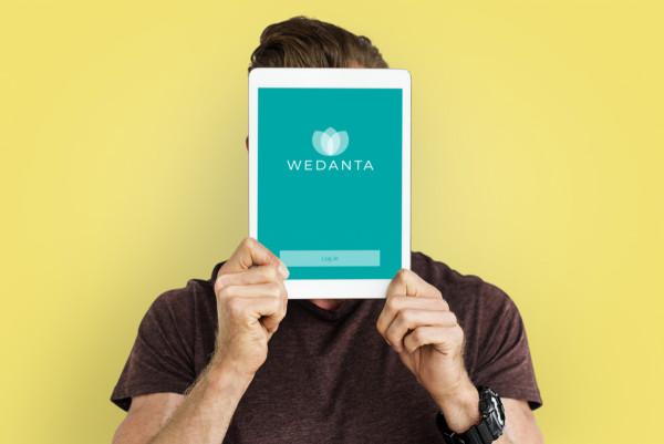 Sample branding #2 for Wedanta