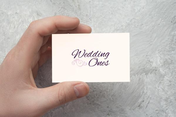 Sample branding #2 for Weddingones