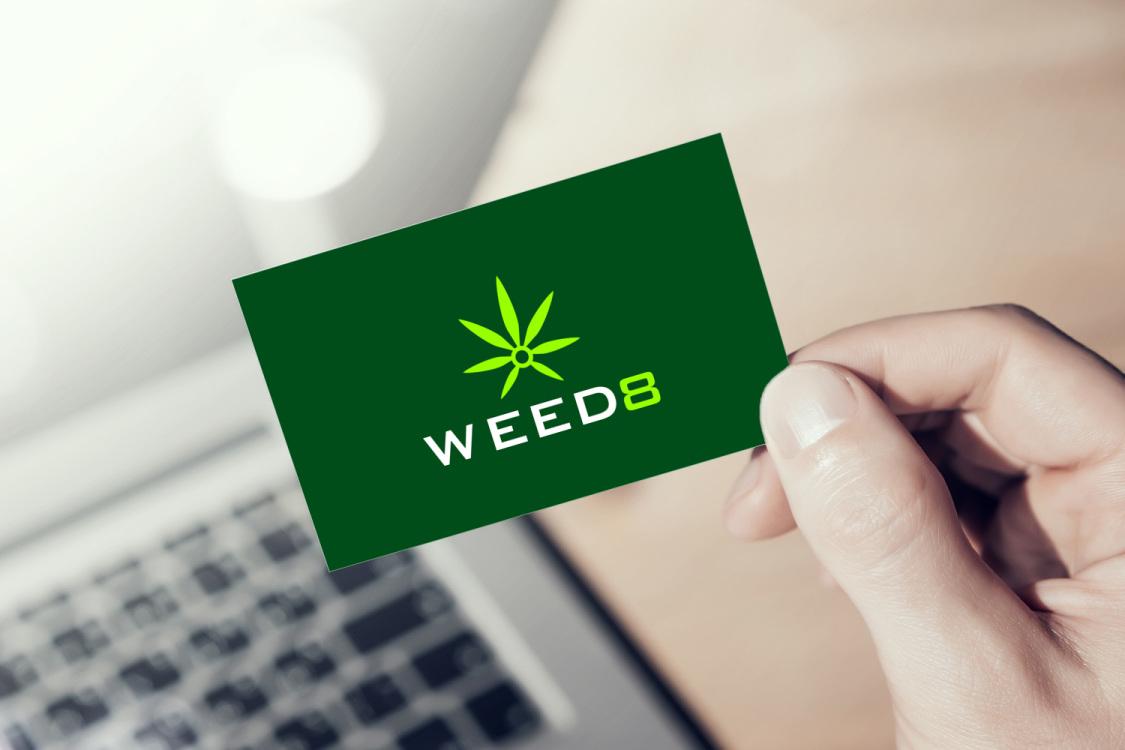 Sample branding #1 for Weed8