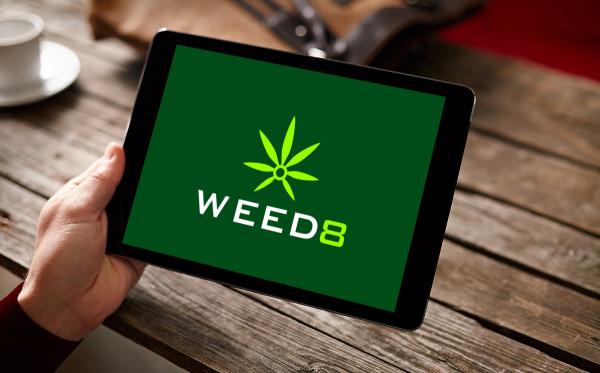 Sample branding #2 for Weed8