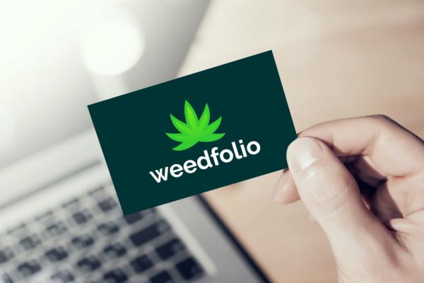 Sample branding #1 for Weedfolio