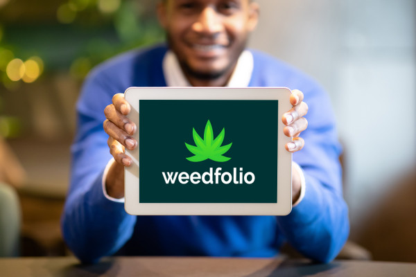 Sample branding #1 for Weedfolio