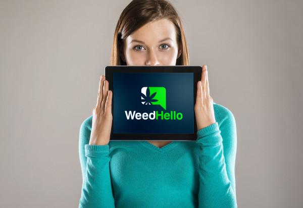 Sample branding #1 for Weedhello