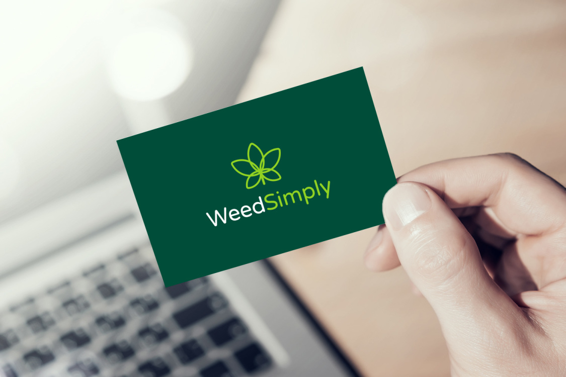 Sample branding #1 for Weedsimply