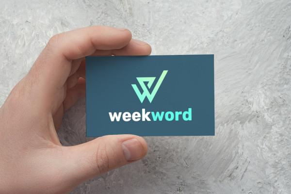 Sample branding #3 for Weekword