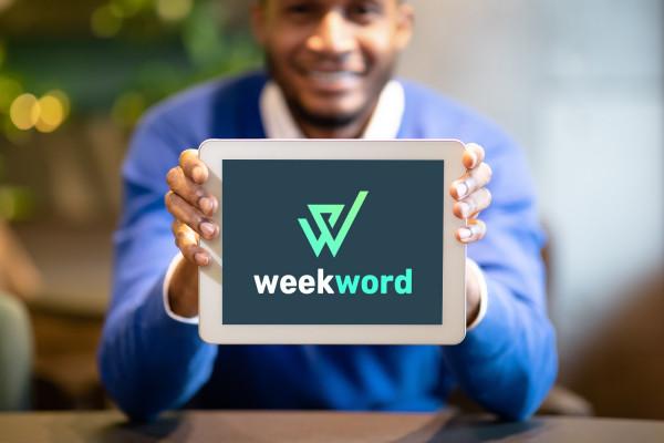 Sample branding #1 for Weekword