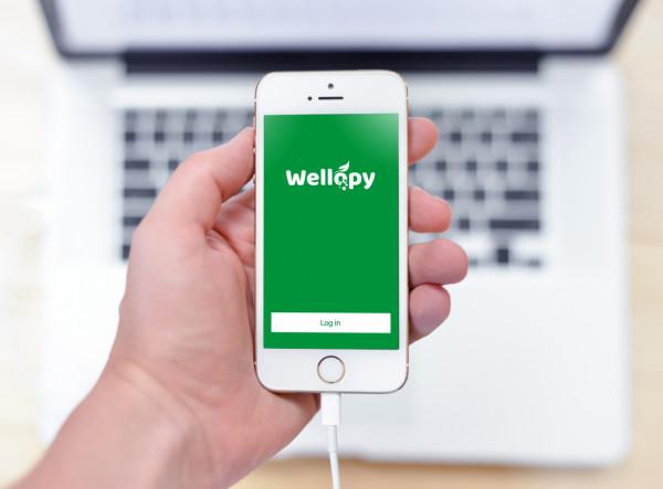 Sample branding #1 for Wellopy
