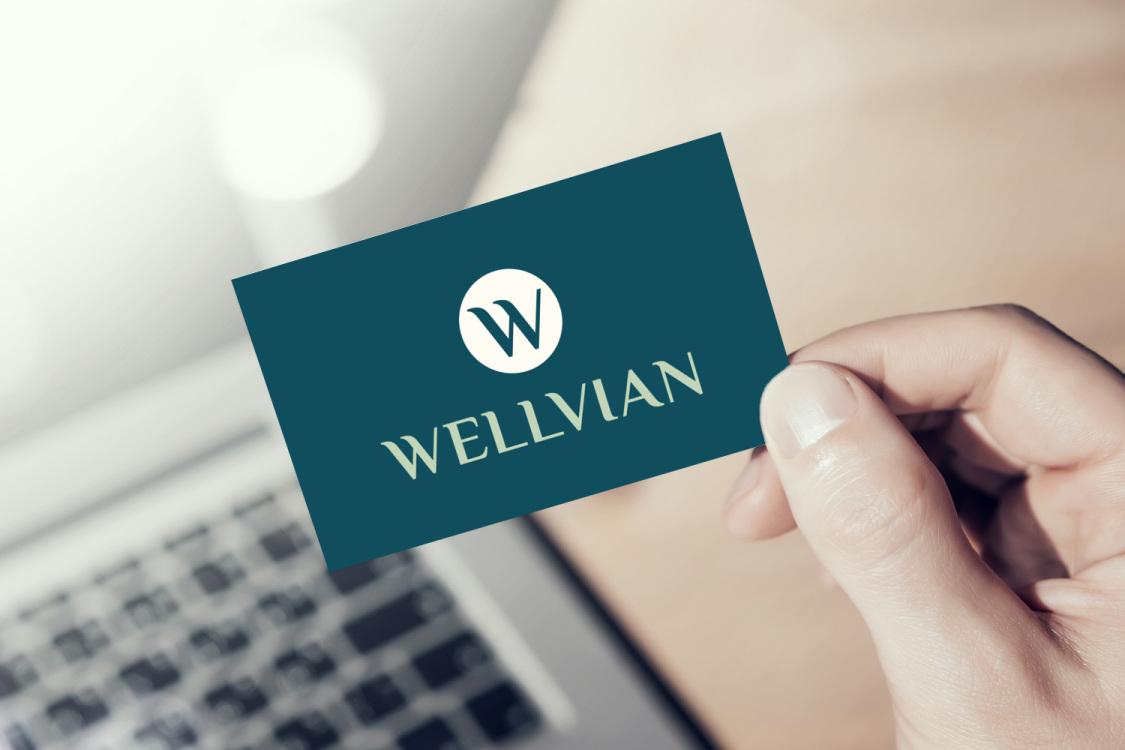 Sample branding #3 for Wellvian