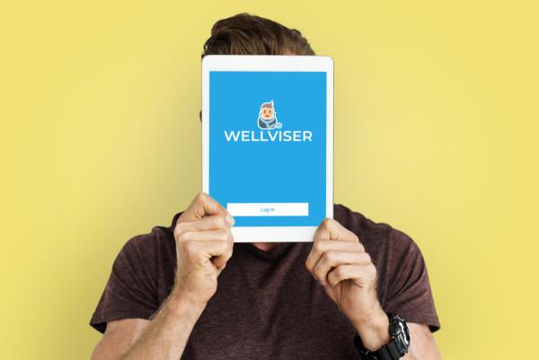 Sample branding #1 for Wellviser
